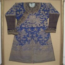 Antique Chinese Garment Shadowbox