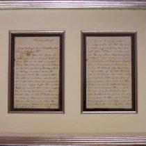 Civil War Letter Front