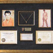 Elvis Necklace Collage Shadowbox
