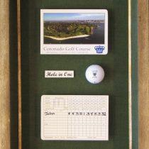 Golf Collage Shadowbox