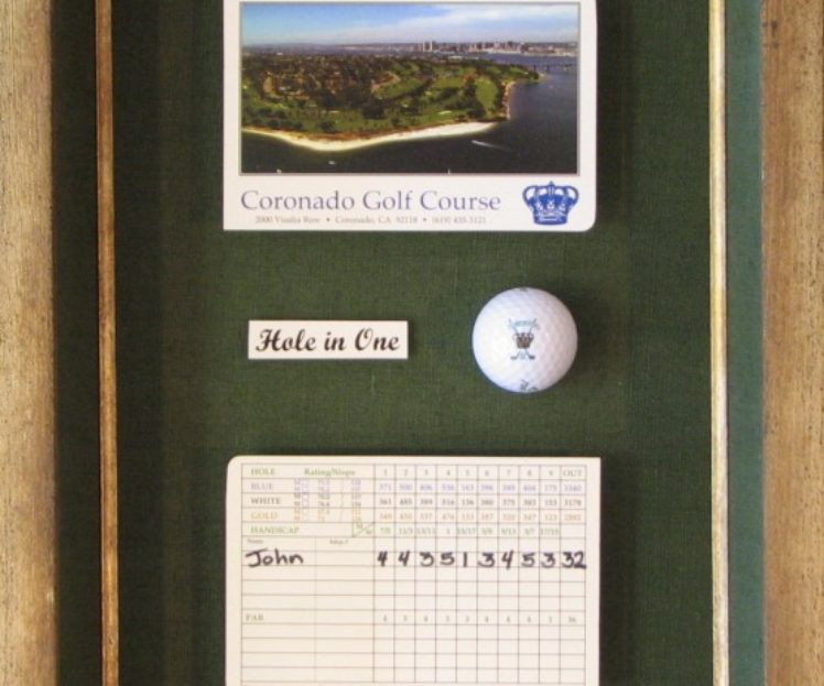 Golf Collage<br>Shadowbox