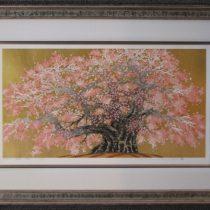 Hand-Carved Frame Japanese Woodblock